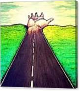 Those Who Follow The Way Canvas Print