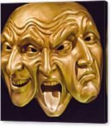 Three Faces Canvas Print