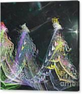 Three Kings Moon Star Canvas Print