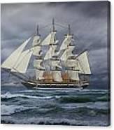 Three Masted Ship Canvas Print