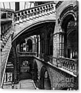 Through The Arches Canvas Print