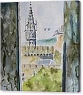 Through The Eyes Of The Prisoner Canvas Print