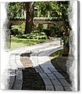 Through The Gates 1 Canvas Print