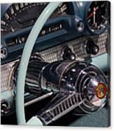 Thunderbird Steering Wheel Canvas Print
