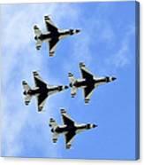 Thunderbirds In Flight Canvas Print