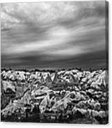 Thunderous Morning Over Cappadocia Canvas Print