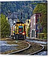 Thurmond Wv Train Canvas Print