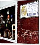 The Window On Calle Del Maine Canvas Print