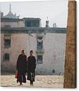 Tibet Monks 6 Canvas Print