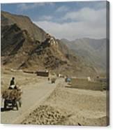 Tibet Rural Canvas Print