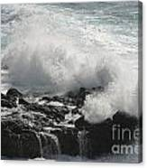 Tidal Spray Canvas Print