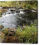 Tidga Creek Falls 2 Canvas Print