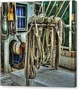 Tied Up Lines Canvas Print