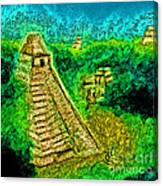 Tikal By Jrr Canvas Print