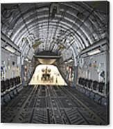 Tikrit, Iraq - A Ch-47 Chinook Canvas Print