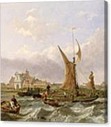 Tilbury Fort - Wind Against The Tide Canvas Print