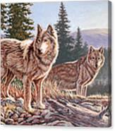Timber Ridge Canvas Print