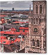 Time For Munich Canvas Print
