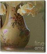 Time In The Garden Canvas Print