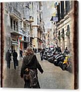 Time Warp In Malaga Canvas Print