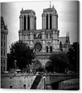 Timeless Notre Dame Canvas Print
