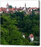 Timeless Rothenburg Canvas Print