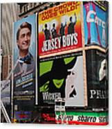 Times Square 7 Canvas Print