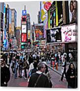 Times Square New York Canvas Print