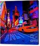 Times Square Nitelife Canvas Print