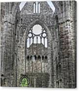 Tintern Abbey-wales Canvas Print
