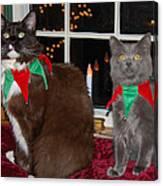 Tiny Holiday Wishes Canvas Print