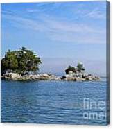 Tiny Island Off Vancouver Island Canvas Print
