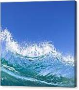 Tip Of A Breaking Wave Canvas Print