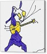 Tis The King - Elvis Canvas Print