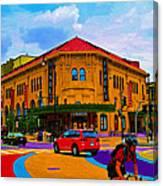 Tivoli Theatre Canvas Print