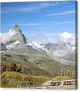 To The Summit Canvas Print