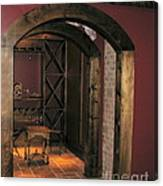 To The Wine Cellar Canvas Print