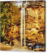 Toccoa Falls Canvas Print