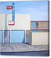 Tod Motor Hotel Canvas Print