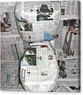 Toilet Paper 2 Canvas Print