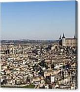 Toledo Cityscape Canvas Print