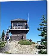 Tolmie Peak Lookout Canvas Print