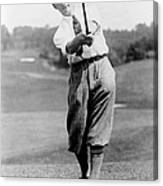 Tom Armour Wins Us Golf Title - C 1927 Canvas Print