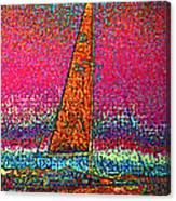 Tom Ray's Sailboat 3 Canvas Print