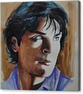 Tom Welling Canvas Print