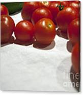 Tomato And Cucumber 1 Canvas Print