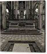 Tomb Of William The Conqueror Canvas Print