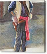 Tombstone Cowboy Canvas Print