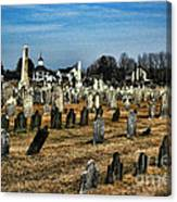 Tombstones Canvas Print