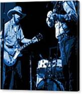 Tommy And Charlie Play Some Blues At Winterland In 1975 Canvas Print